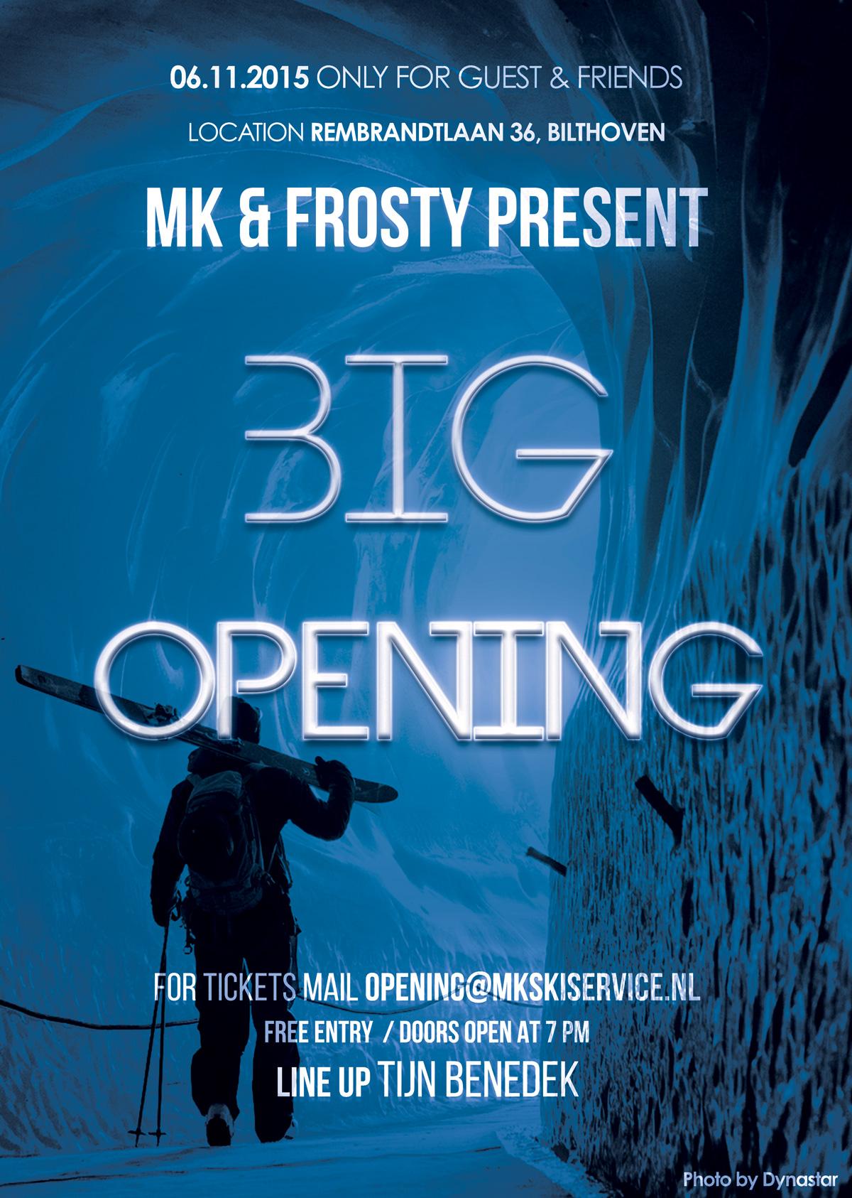MK & Frosty BIG OPENING