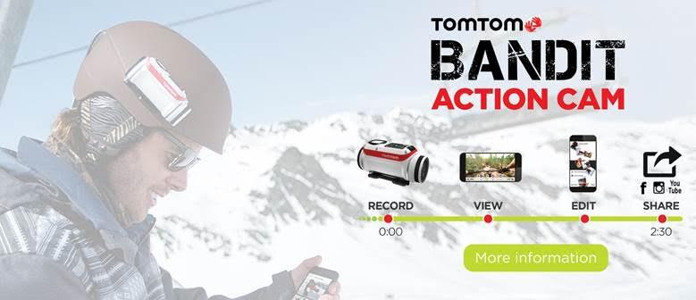 Tom Tom Bandit cashback actie